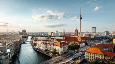 Bild Berlin Skyline mit Fernsehturm