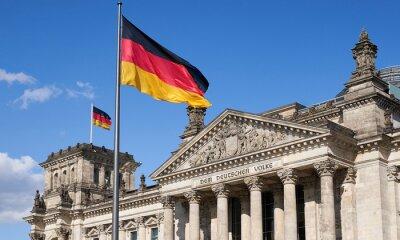 Bild Berlin und die deutsche Flagge